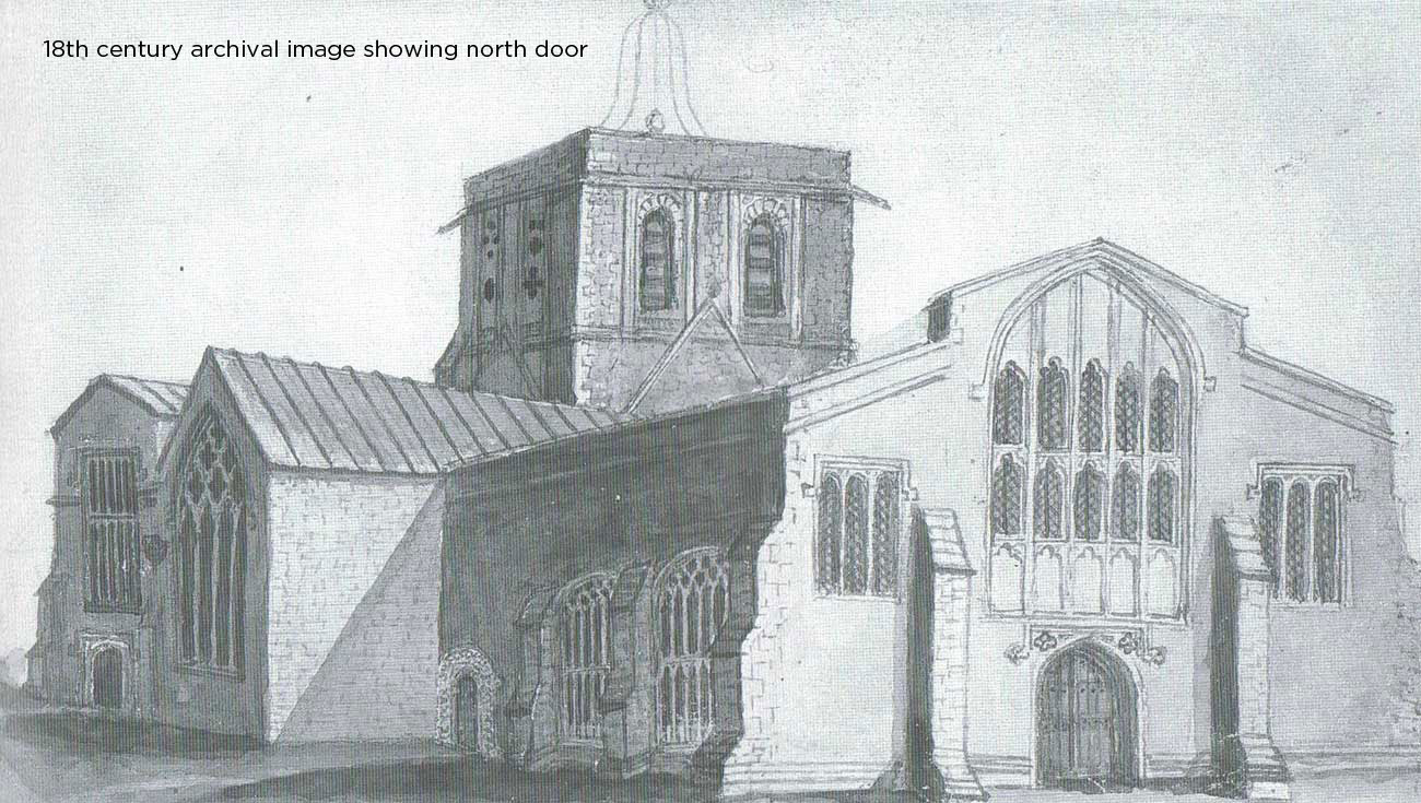 All-Saints-Farringdon-old-drawing