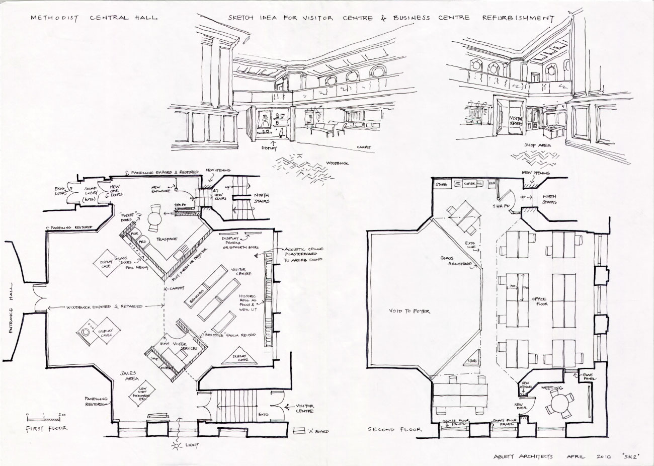 methodist-central-hall-plans